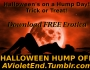 Halloween Hump Off – free books!